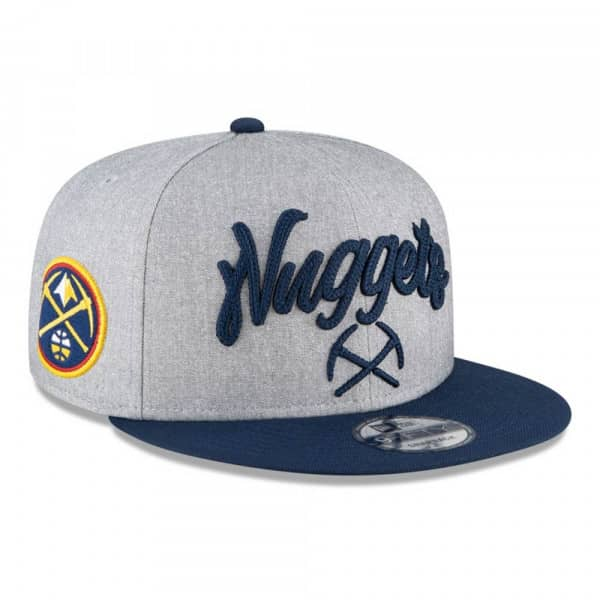 Denver Nuggets Authentic On-Stage 2020 NBA Draft New Era 9FIFTY Snapback Cap
