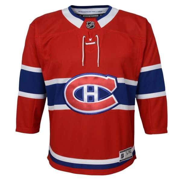 Montreal Canadiens Premier Youth NHL Trikot Home (KINDER)