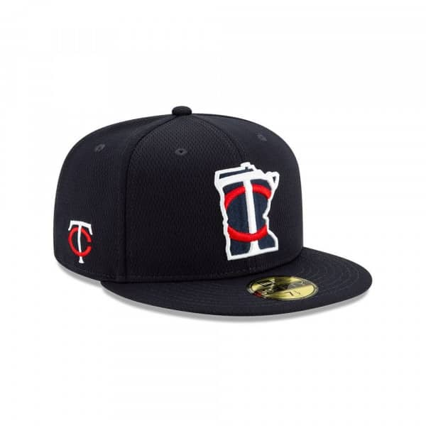 Minnesota Twins 2020 Authentic Spring Training 59FIFTY Fitted MLB Cap