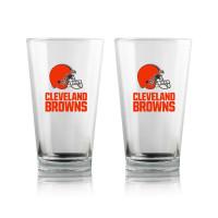 Cleveland Browns Highball NFL Pint Glas Set (2 Stk.)