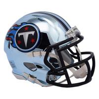Tennessee Titans NFL Chrome Alternate Speed Mini Helm