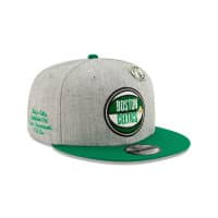 Boston Celtics 2019 NBA Draft 9FIFTY Snapback Cap Heather Grey
