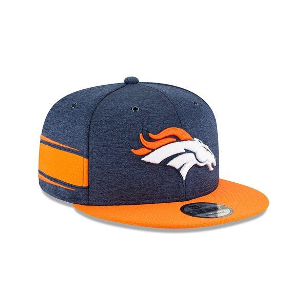 Denver Broncos 2018 NFL Sideline 9FIFTY Snapback Cap Home