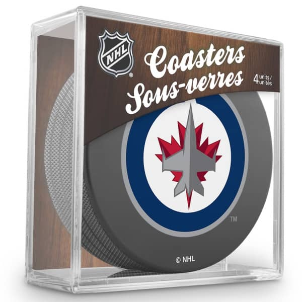 Winnipeg Jets NHL Eishockey Puck Untersetzer (4er Set)