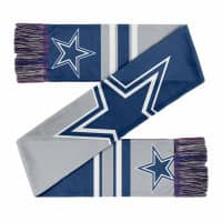 Dallas Cowboys Colorblock Big Logo NFL Schal