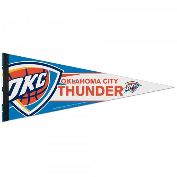 Oklahoma City Thunder Big Logo Premium NBA Wimpel