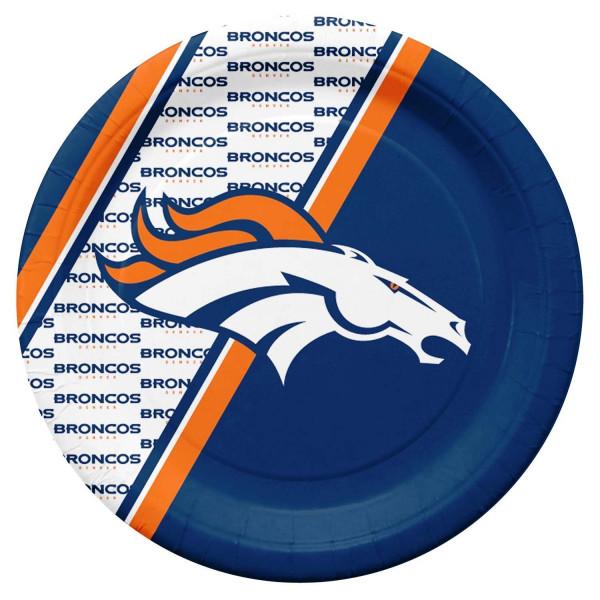 Denver Broncos Partyware NFL Pappteller Set (20 Stk.)