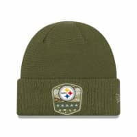 Pittsburgh Steelers 2019 On-Field Salute to Service NFL Beanie Wintermütze