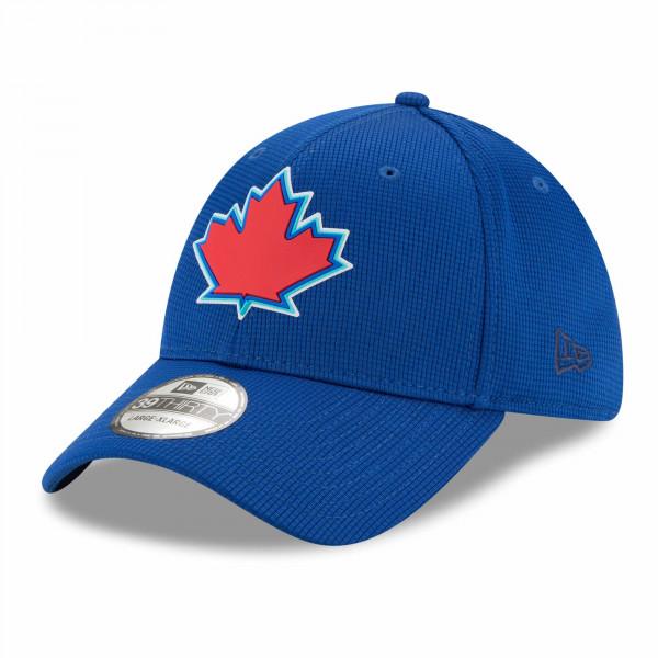 Toronto Blue Jays 2021 MLB Authentic Clubhouse New Era 39THIRTY Flex Cap