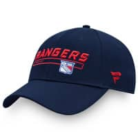 New York Rangers Rinkside 2019/20 Authentic Pro Fanatics Adjustable NHL Cap