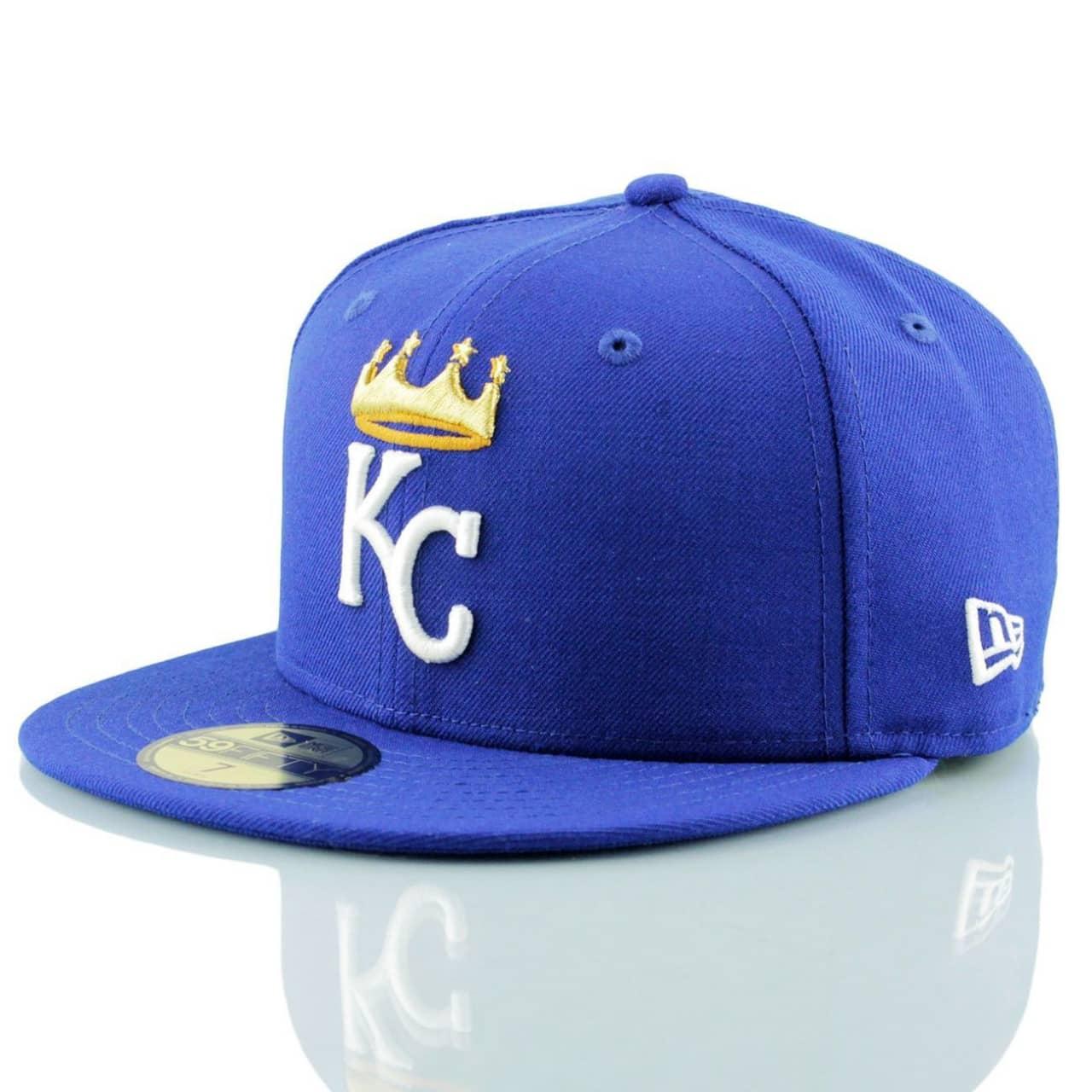 1b195333e4f New Era Kansas City Royals Crown Logo 59FIFTY Fitted MLB Cap