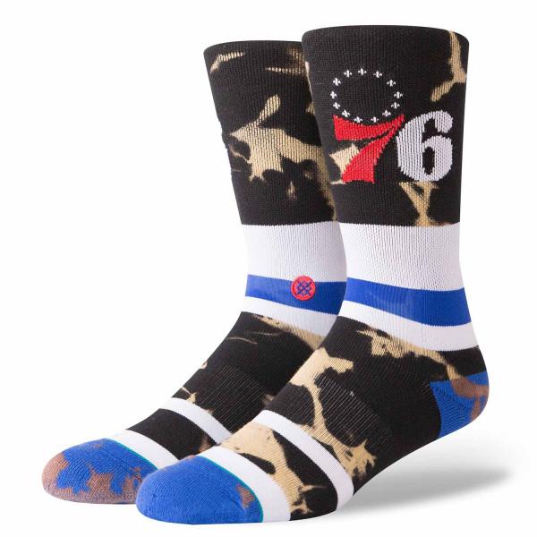 Philadelphia 76ers Acid Wash NBA Socken