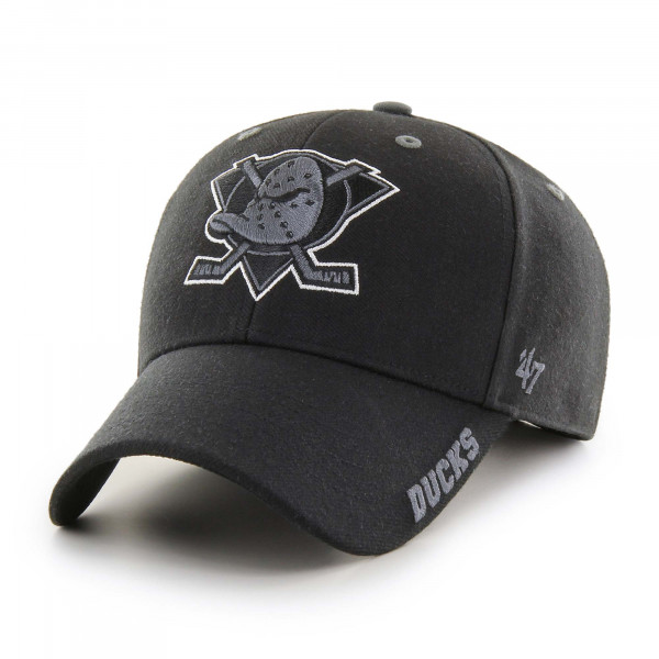Anaheim Ducks Graphite Defrost MVP Adjustable NHL Cap
