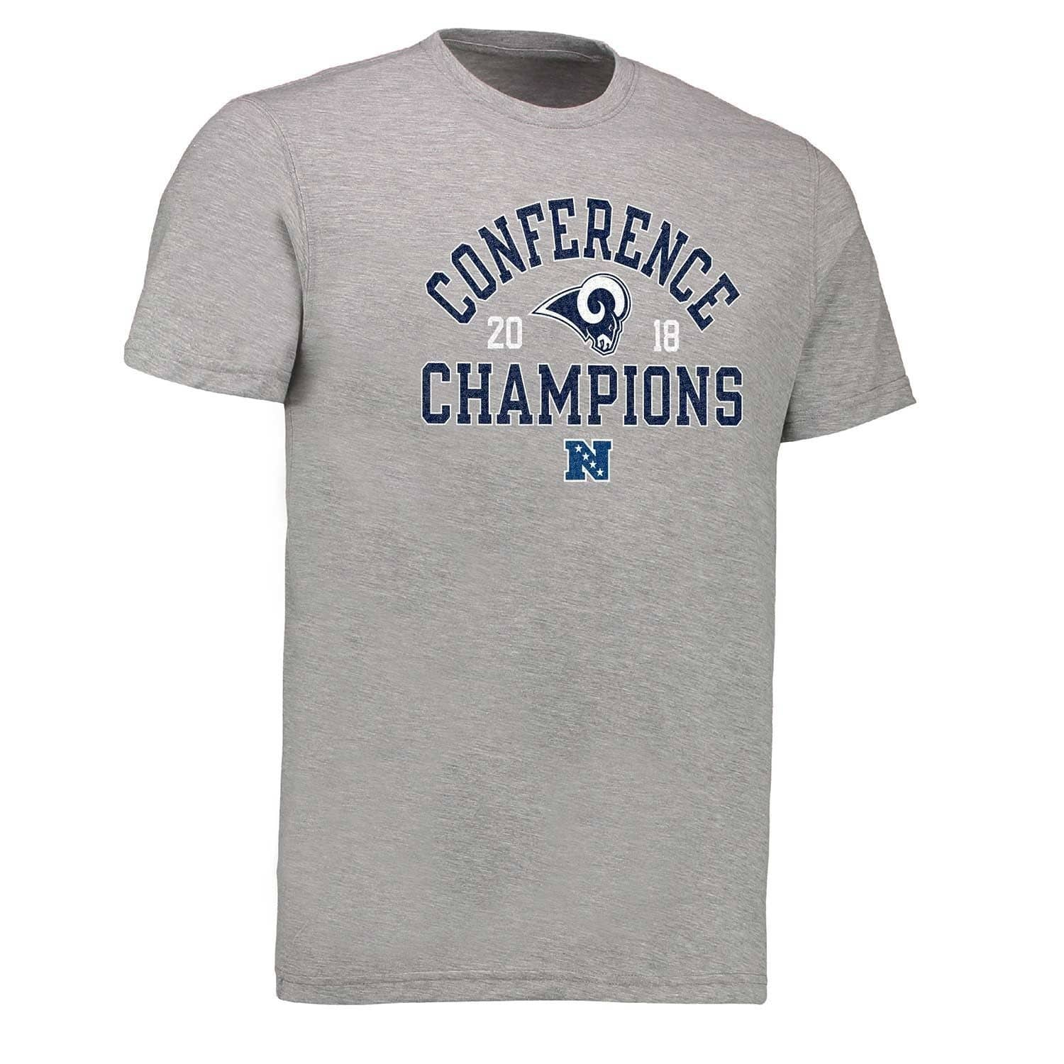 cdbdebe54 Los Angeles Rams 2018-19 NFC Conference Champions Scrimmage NFL T-Shirt