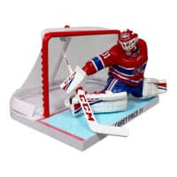 2017/18 Carey Price Montreal Canadiens NHL Figur mit Tor (16 cm)