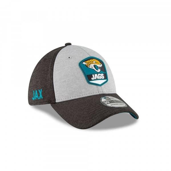 Jacksonville Jaguars 2018 NFL Sideline 39THIRTY Flex Cap Road
