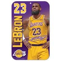 LeBron James Los Angeles Lakers Player NBA Schild