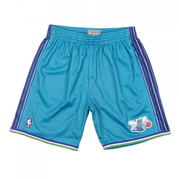 Charlotte Hornets 1999-00 Mitchell & Ness Swingman NBA Shorts