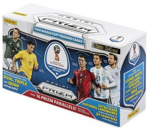 2018 Panini Prizm FIFA World Cup Soccer (Fußball) Hobby Box