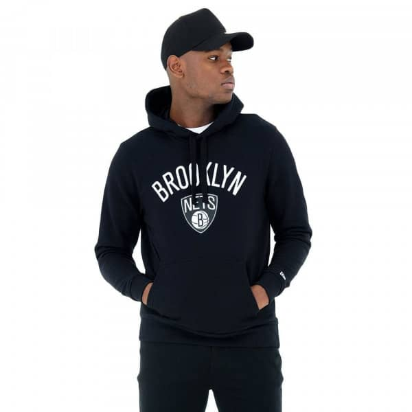 Brooklyn Nets Team Logo Hoodie NBA Sweatshirt