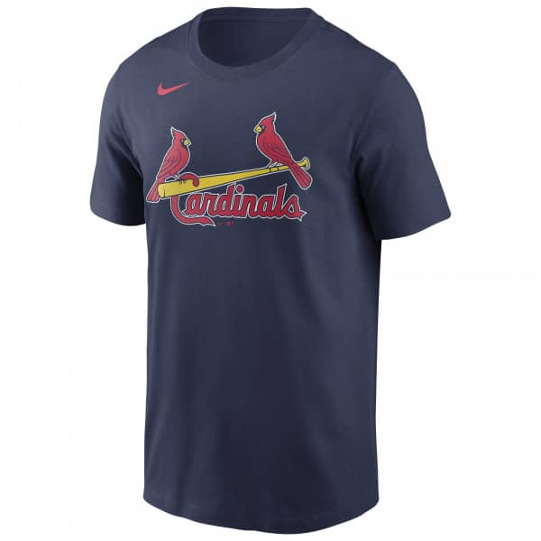 St. Louis Cardinals Wordmark Nike MLB T-Shirt Navy
