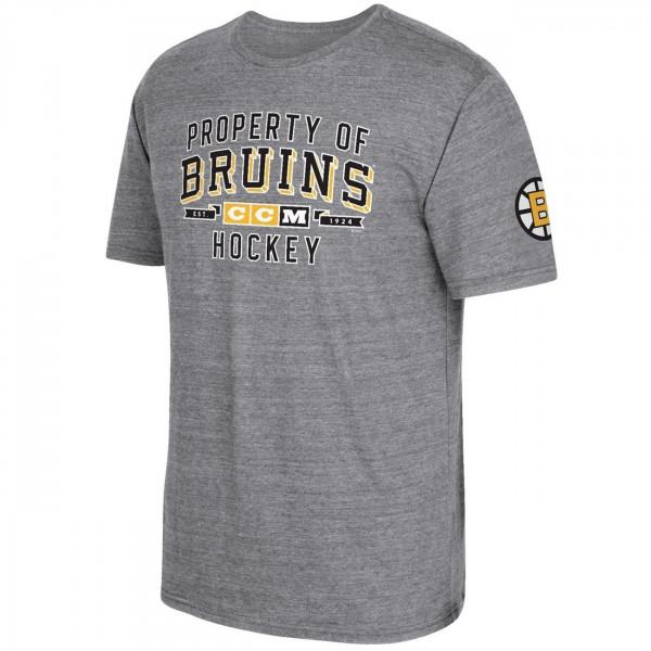 Boston Bruins Property Block NHL T-Shirt Grau