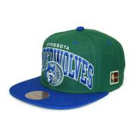 Minnesota Timberwolves Arch Snapback NBA Cap /w HWC Patch