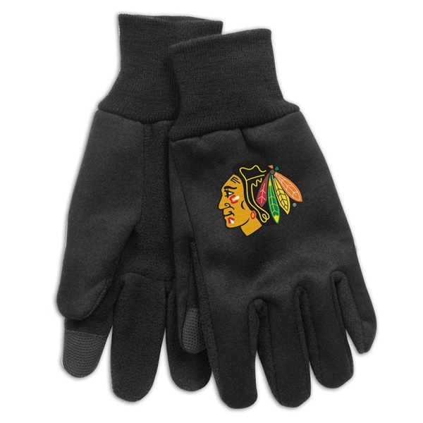 Chicago Blackhawks Technology Touch-Screen NHL Handschuhe