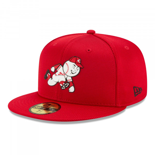 Cincinnati Reds 2021 MLB Authentic Clubhouse New Era 59FIFTY Fitted Cap