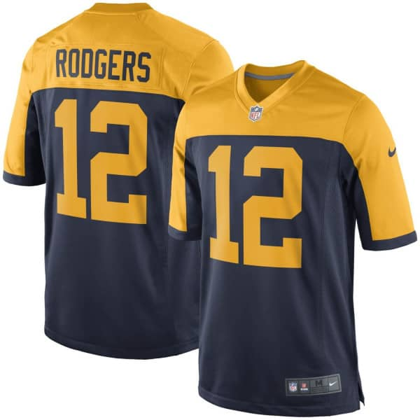 Nike Aaron Rodgers  12 Green Bay Packers Game Football NFL Jersey Alternate   860390e7f