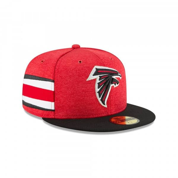 Atlanta Falcons 2018 NFL Sideline 59FIFTY Fitted Cap Home