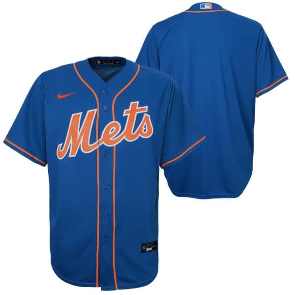New York Mets Youth MLB Replica Alternate Trikot Blau (KINDER)