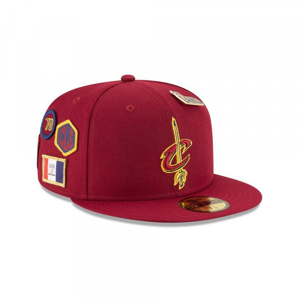 the latest bddfe 9acc2 New Era Cleveland Cavaliers 2018 NBA Draft 59FIFTY Fitted Cap Red    TAASS.com Fan Shop