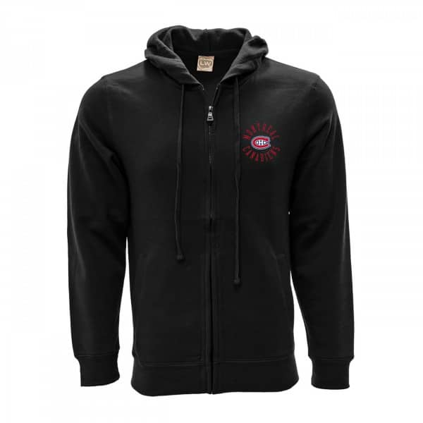 Montreal Canadiens Line Full-Zip NHL Hoodie