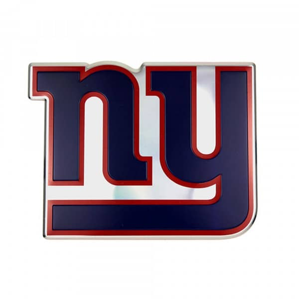 New York Giants Aluminium Color NFL Team Emblem