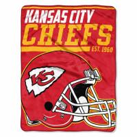 Kansas City Chiefs Super Plush NFL Decke