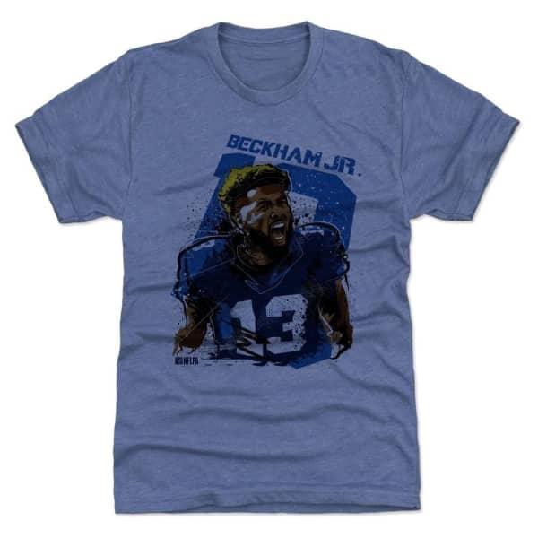 Odell Beckham Jr. New York Giants Smash NFL T-Shirt