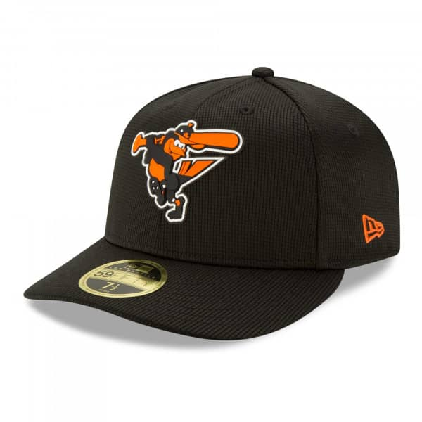 Baltimore Orioles 2021 MLB Authentic Clubhouse New Era Low Profile 59FIFTY Cap