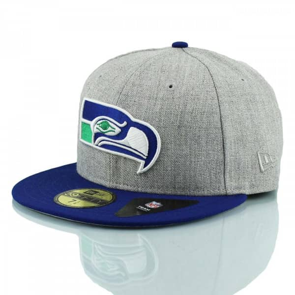 Seattle Seahawks Throwback 59FIFTY Fitted NFL Cap