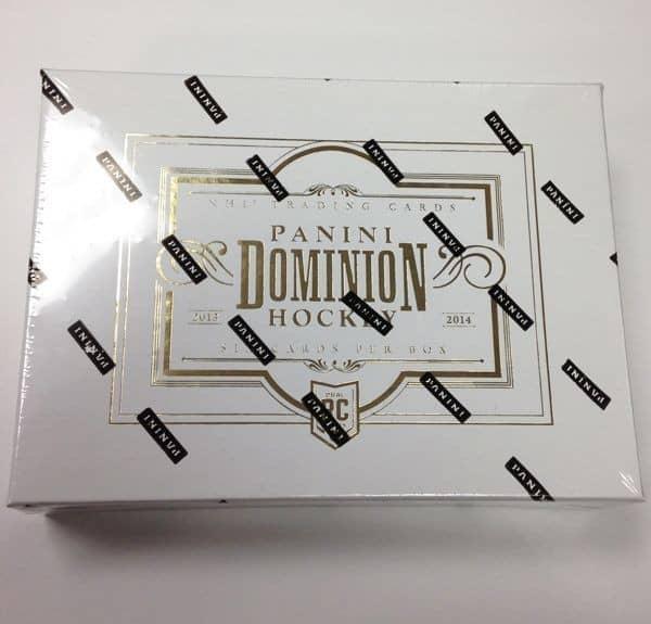 2013/14 Panini Dominion Hockey Hobby Box NHL