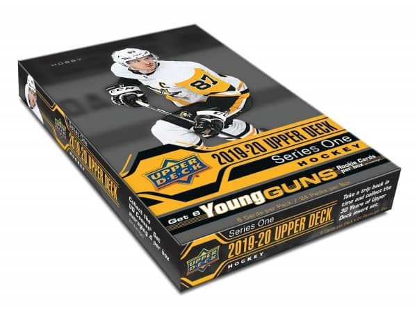 2019/20 Upper Deck Series 1 Hockey Hobby Box NHL