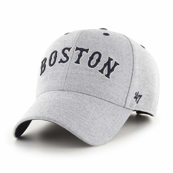Boston Red Sox Storm Cloud Script '47 MVP Adjustable MLB Cap