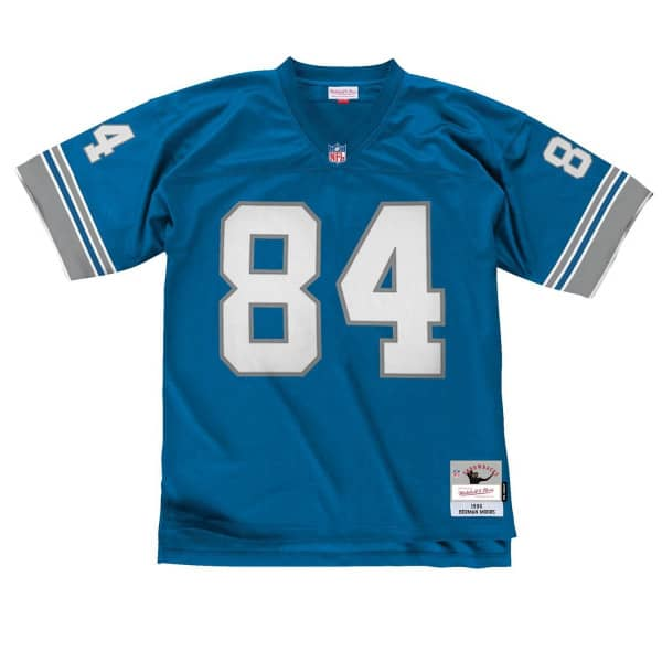 Herman Moore #84 Detroit Lions Mitchell & Ness Legacy Throwback NFL Trikot Blau