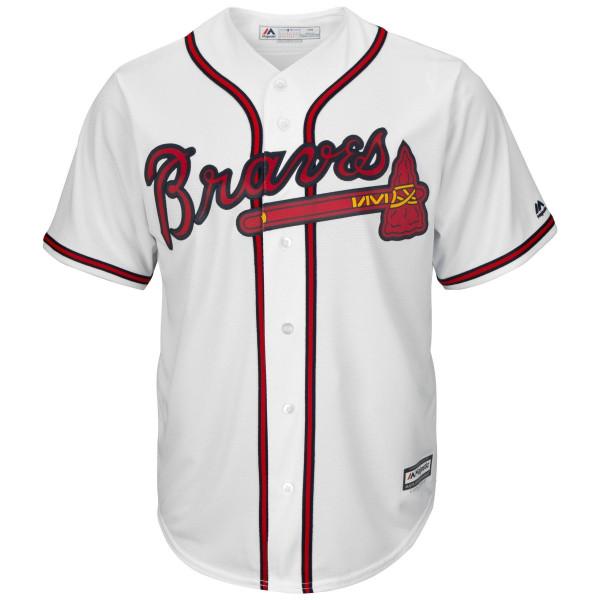 Atlanta Braves Cool Base MLB Trikot Home
