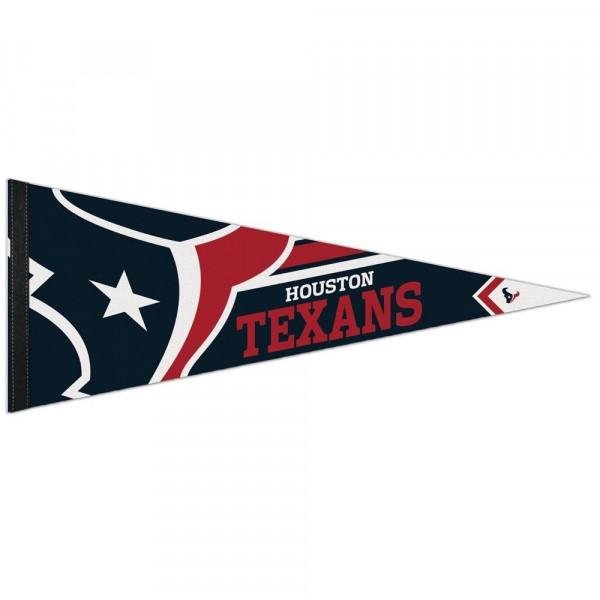 Houston Texans Big Logo Premium Football NFL Wimpel