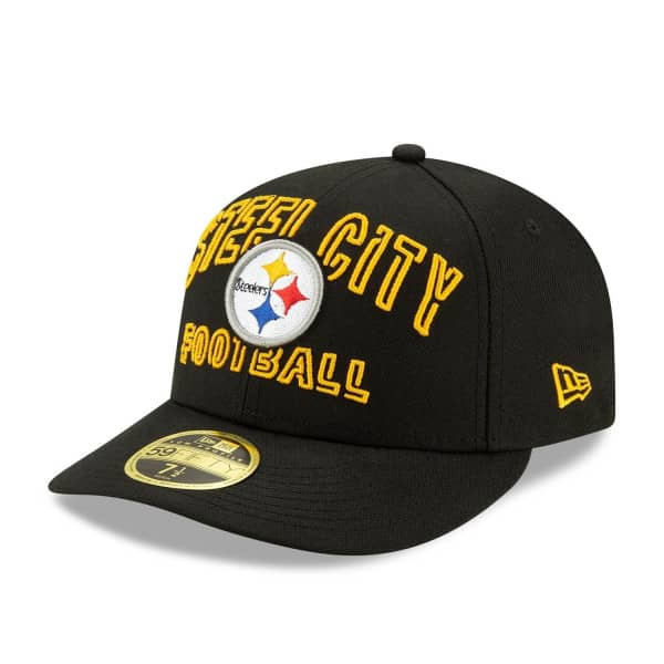 Pittsburgh Steelers 2020 NFL Draft New Era Low Profile 59FIFTY Cap Alternate