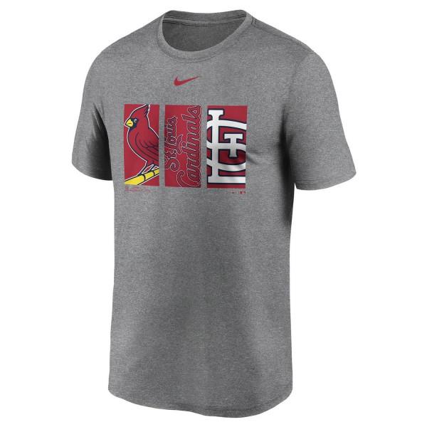 St. Louis Cardinals Triptych Nike Legend MLB T-Shirt