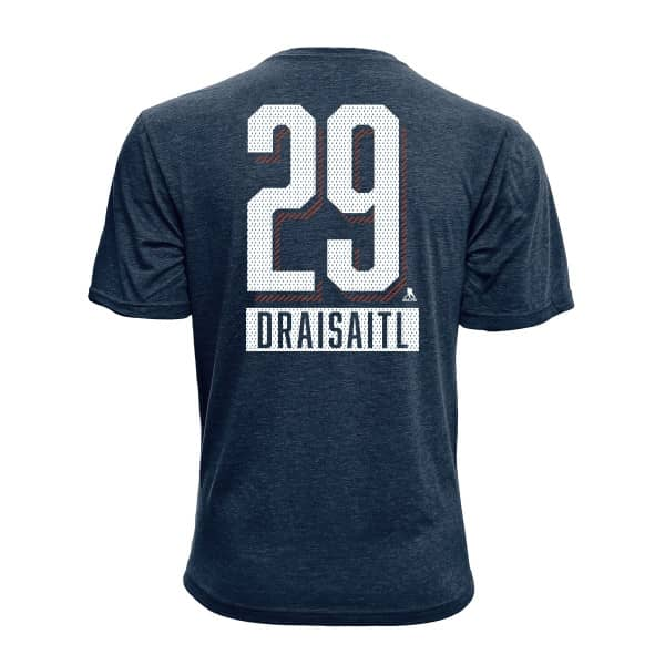 Leon Draisaitl #29 Edmonton Oilers Icing Player NHL T-Shirt
