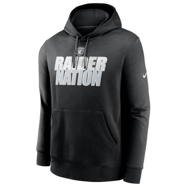 Las Vegas Raiders 2020 NFL Local Nike Club Fleece Hoodie