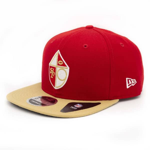 newest 1a197 75aaa New Era San Francisco 49ers Throwback NFL Snapback Cap   TAASS.com Fan Shop